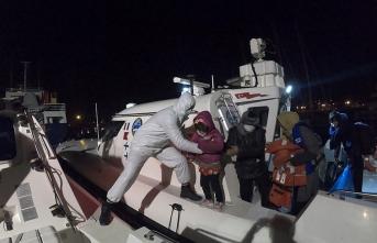 56 göçmeni Türk Sahil Güvenliği kurtardı