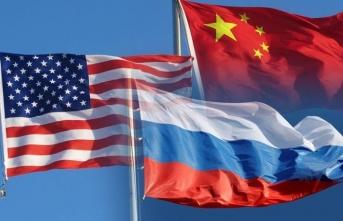 ABD'den Çin ve Rusya'ya şok: Liste halinde yayımlandı