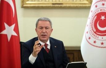 Bakan Akar Libya'da verdi mesajı: Aklını başına alsın