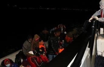 Bot arızalandı, sığınmacılar Türk güvenliği tarafından kurtarıldı
