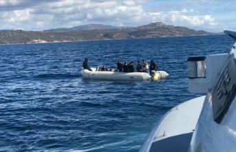 Çanakkale'de sığınmacılar kurtarıldı