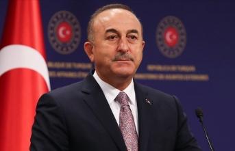 Çavuşoğlu, KKTC Cumhurbaşkanı Tatar ile  görüştü