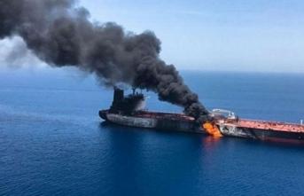 Cidde limanında petrol tankerinde patlama