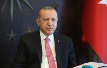 Cumhurbaşkanı Erdoğan'dan vatandaşlara yeni yıl mesajı