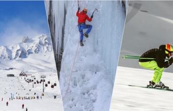 Kış turizminin gözdesi Erzurum'da buz ve kış sporları kültürü oluşturulacak
