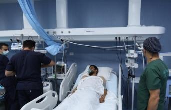 Libya'daki Türk askeri hastanesi Libya'nın güvenlik ekiplerine sağlık hizmeti veriyor