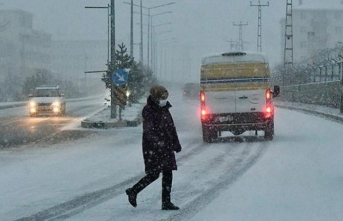 Meteorolojiden 'kar ve sağanak' açıklaması