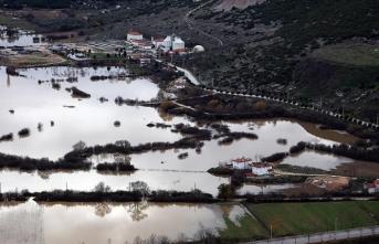 Muğla'da tarım arazileri sular altında kaldı