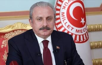Mustafa Şentop'tan taziye mesajı