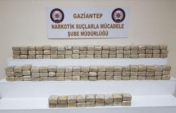O ilde bir yılda 1,5 ton uyuşturucu ele geçirildi