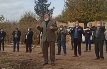 Şanlıurfalılar elektrik duasında: 'Allah'ım bize elektrik ver'