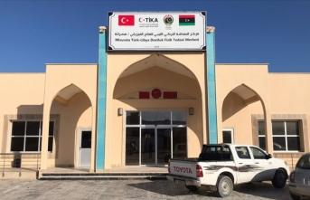 TİKA'nın Misrata'da kurduğu Fizik Tedavi Merkezi Libyalı yetkililere teslim edildi