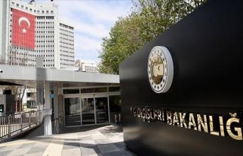 Türkiye'den Hırvatistan'a destek mesajı