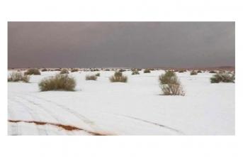 100 sene sonra yağan ilk kar