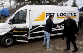 AFAD tarafından gönderilen yardım malzemeleri depremin vurduğu Hırvatistan'a ulaştı