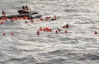 Akdeniz'de tekne battı: 43 ölü