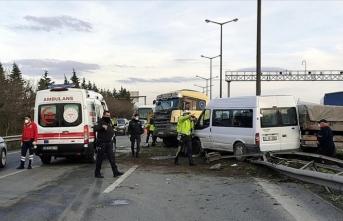 Anadolu Otoyolu'nda kaza