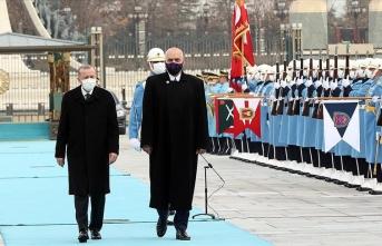 Arnavutluk Başbakanı Edi Rama Beştepe'de