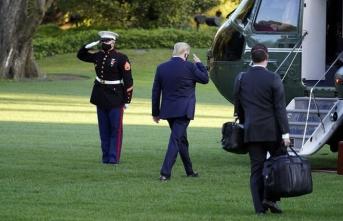 Bir devrin sonu: Trump Beyaz Saray'a veda etti
