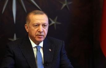 Cumhurbaşkanı Erdoğan şehidin annesine başsağlığı diledi