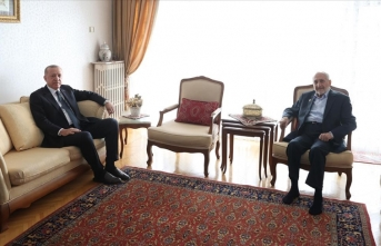 Cumhurbaşkanı Erdoğan'dan Asiltürk'e sürpriz ziyaret