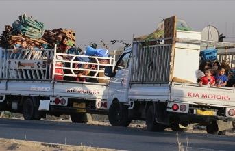 DEAŞ'tan kaçıp Türkiye'ye sığınan göçmenler ülkelerine döndü