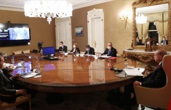 Erdoğan, AB Komisyonu Başkanı ile görüştü
