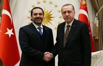 Erdoğan Saad Hariri'yi kabul etti