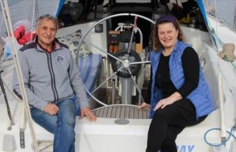 Evlerini sattılar tekne aldılar