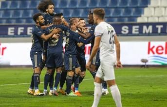 Fenerbahçe üst üste ikinci galibiyetini aldı