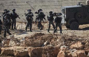 Filistinli göstericilere İsrail askerleri saldırdı: Çok sayıda yaralı