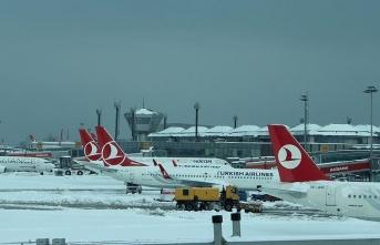 İstanbul Havalimanı ara vermeden çalışıyor