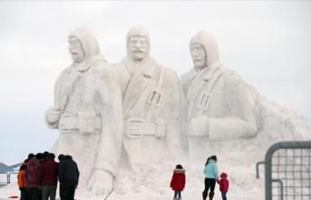 Kardan şehit heykelleri hazır
