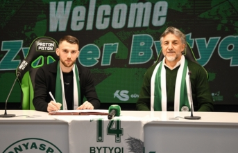 Kosovalı kanat oyuncusu Konyaspor'da