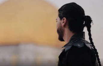 Kudüs için Diriliş Ertuğrul müziğiyle klip yaptılar