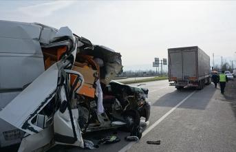 Milli motosikletçi kardeşler kaza geçirdi