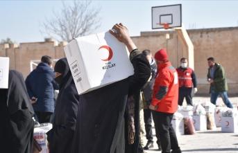 Terörden temizlenen bölgeye 426 insani yardım faaliyeti