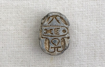 Tokat'ta milattan önceye ait Mısır mührü bulundu
