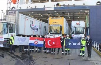 Türkiye'den Hırvatistan'daki depremzedelere yardım