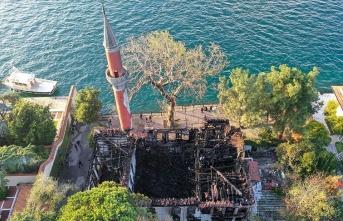 Vaniköy Camii'ndeki yangın soruşturmasında önemli gelişme
