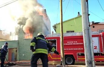 Yangın faciası: Anne ve çocuğu hayatını kaybetti