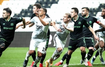 Beşiktaş'tan 10 kişiyle çok değerli bir galibiyet