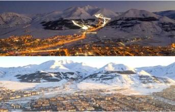 Drone ile Erzurum'a bakış