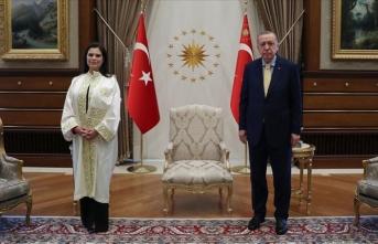 Erdoğan rektörleri kabul etti