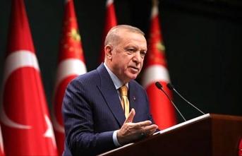 Erdoğan'dan kandil mesajı