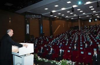 Erdoğan: 'Dünyaya mı sığamadınız' diyecekler