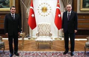 Erdoğan, Meredow'u kabul etti
