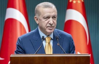 Erdoğan: Yaşadıklarımız dayanışmanın önemini göstermiştir