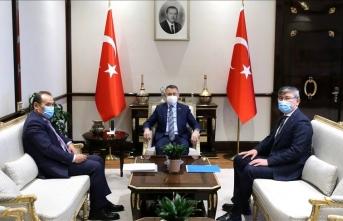 Fuat Oktay Türk Konseyi Genel Sekreteri ile görüştü