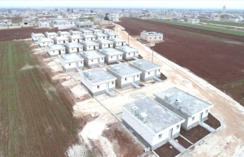 İHH'dan İdlib'e briket ev